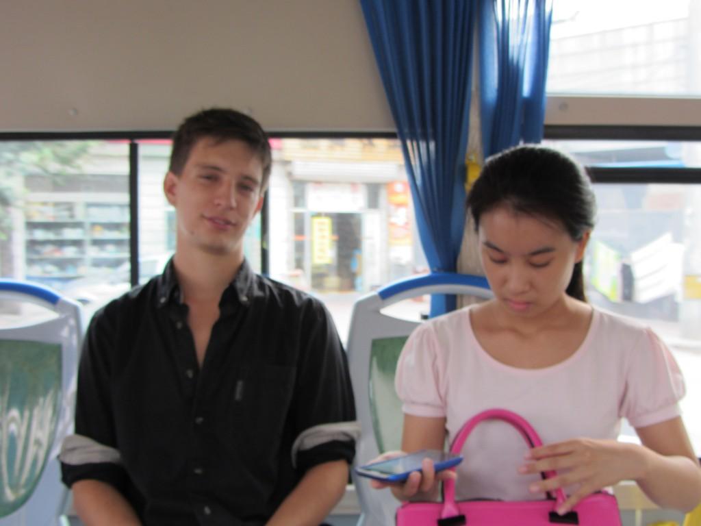 Maxime et Liu Chinxue