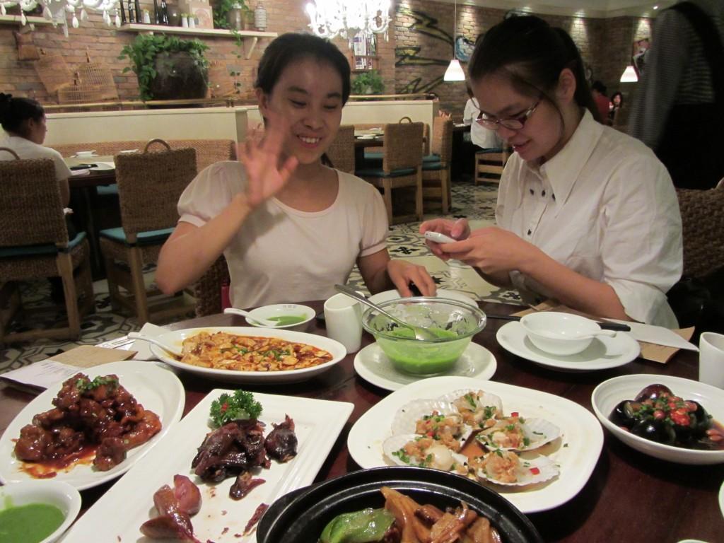 Liu, Nikily et nos plats