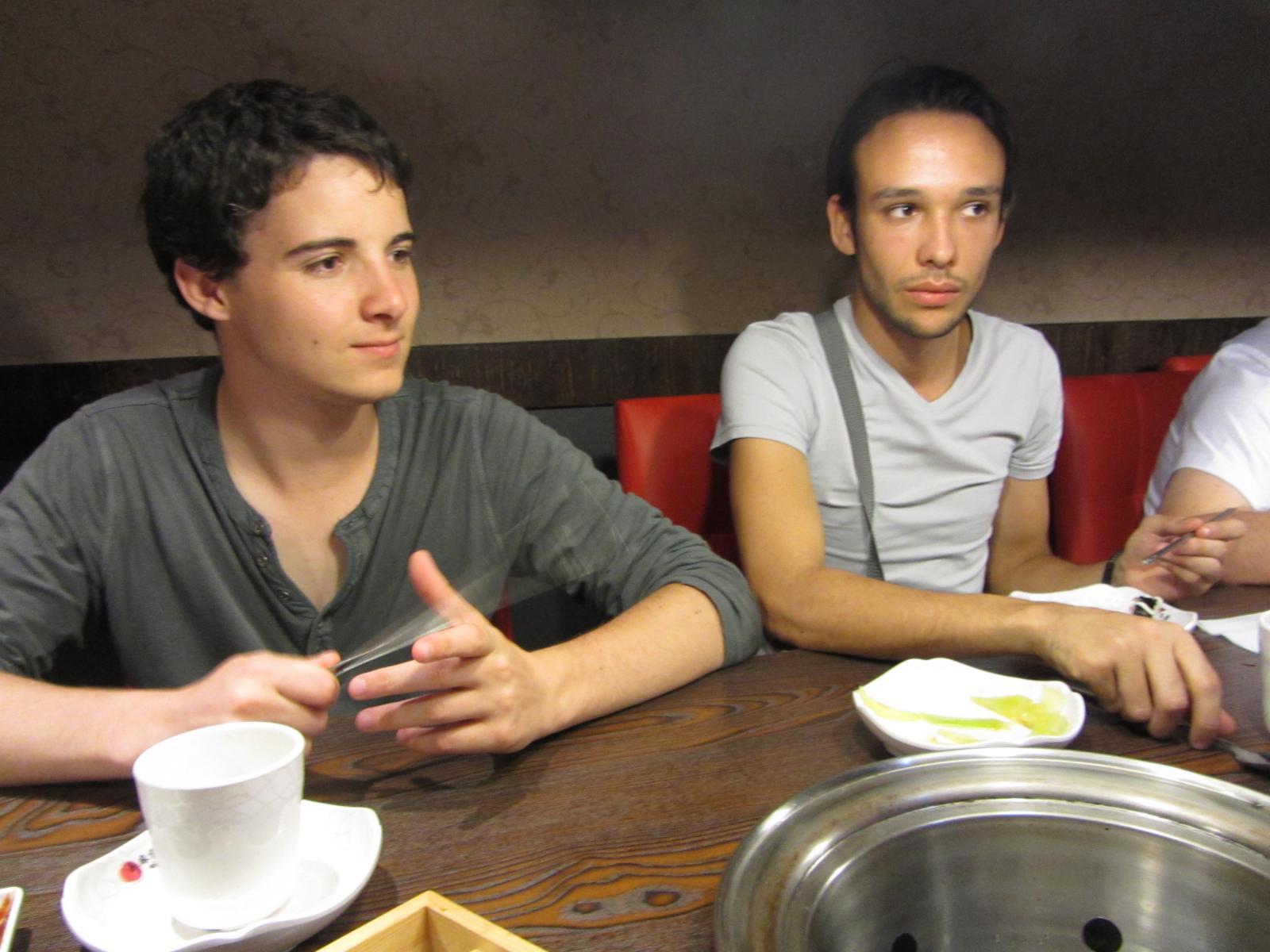 Clément et Pierre