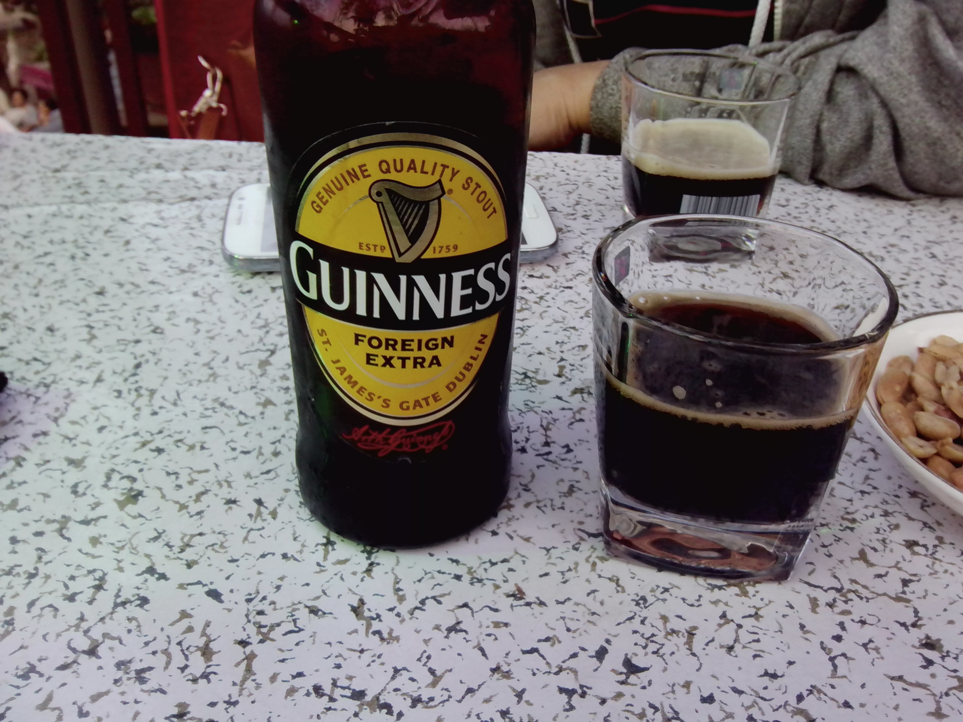 Une guiness !